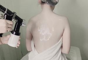 Liệu trình tắm trắng da chống lão hóa