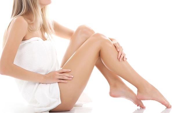 Cách tẩy lông chân