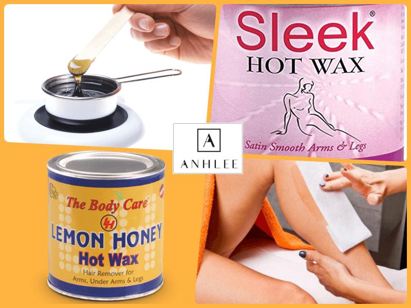 Wax lông bằng sáp nóng