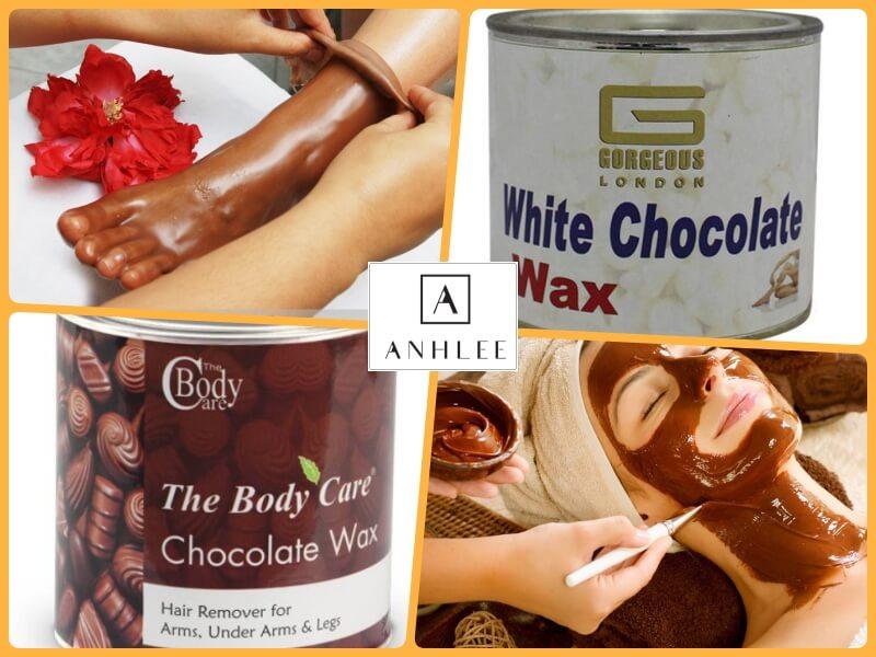 Wax lông bằng sáp sô cô la