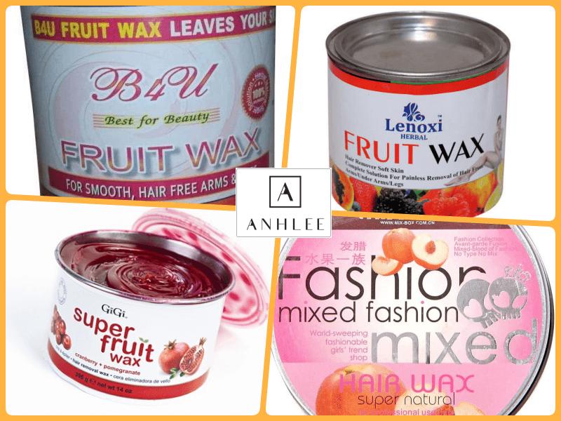 Wax lông bằng sáp trái cây
