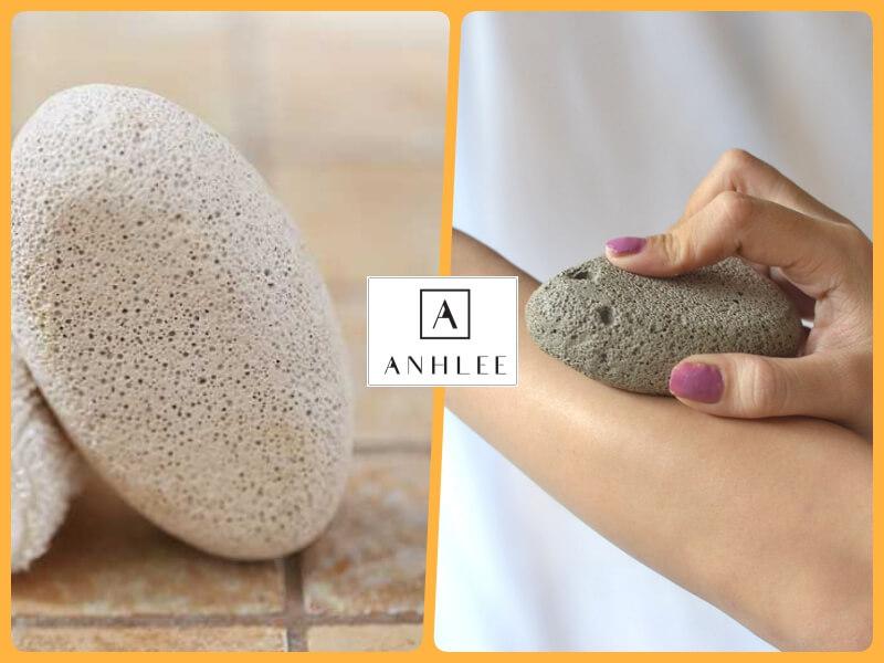 Cách trị lông chân vĩnh viễn tại nhà bằng đá mài