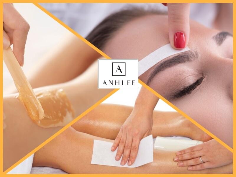 Sử dụng phương pháp wax để trị lông chân