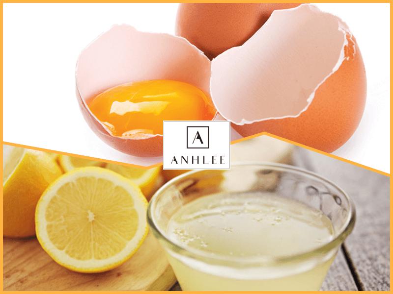 Cách tẩy lông mặt bằng trứng gà